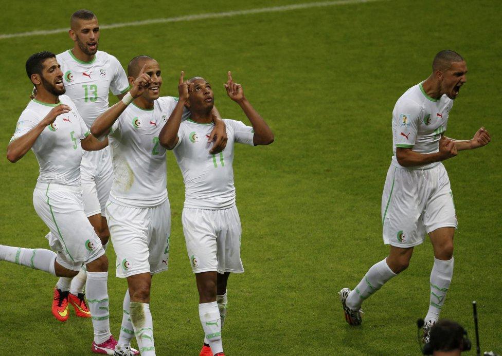Argelia está dando que hablar. 4-2 ante Corea y opciones serias de estar en octavos.