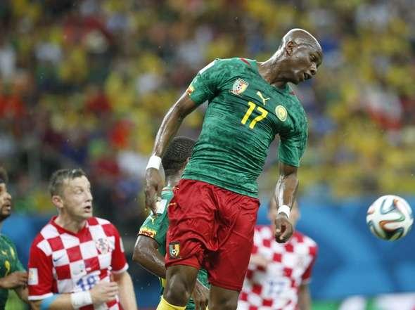 Otro fin de ciclo sonado. Camerún goleado por Croacia. Eto'o se despide del Mundial por la puerta de atrás.