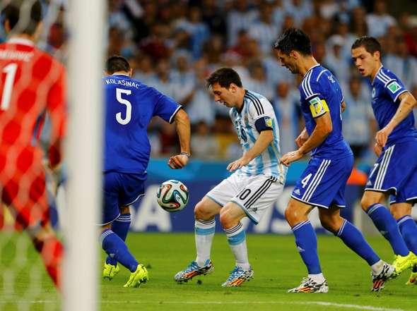 El Mundial ya ha empezado para Messi.