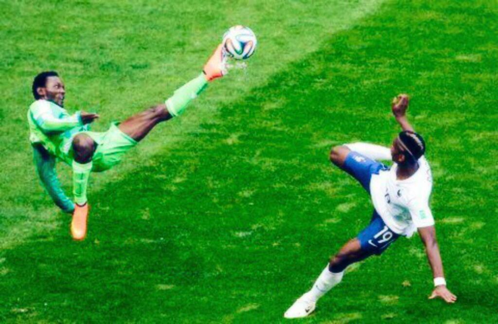 Nigeria se lo puso difícil a Francia.