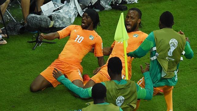 Gervinho, Drogba. Con ellos Costa de Marfil apunta muy alto.