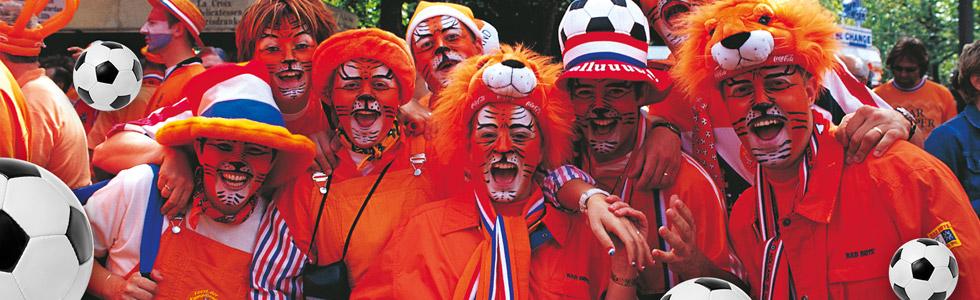 Holanda tiene una de las mejores aficiones del Mundial.