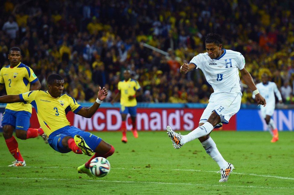 Honduras y Ecuador son dos equipos que buscan el gol.