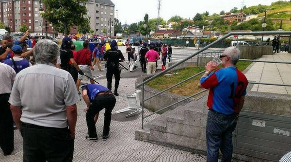 The Mérida-Langreo ended with two injuries due to previous incidents.