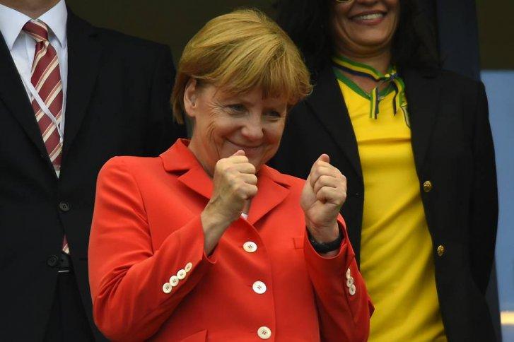 Merkel no se perdió el cómodo triunfo germano.