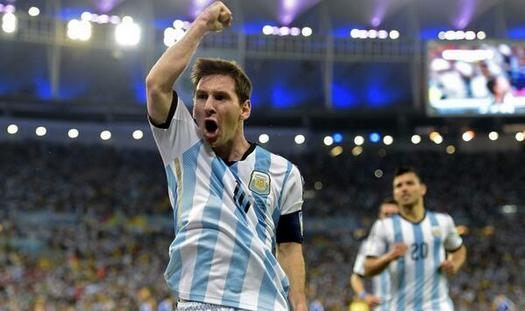 Messi scored all his goals in the first phase of the tournament.