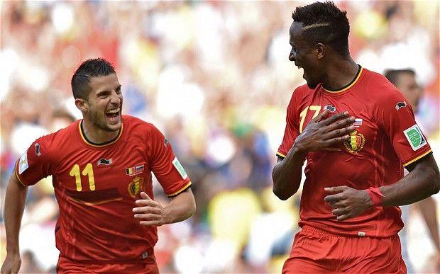 Origi marcó el gol que le dio el triunfo a Bélgica.