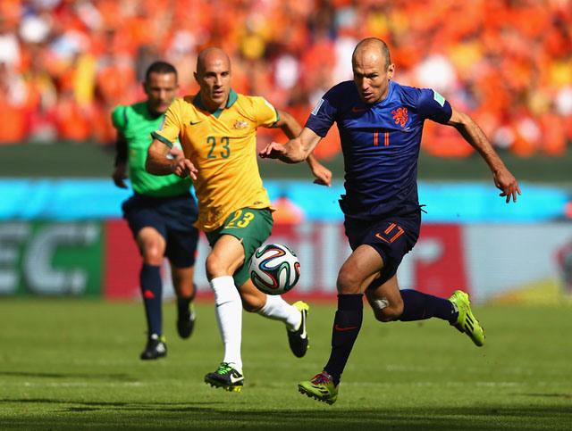 Si hay un futbolista para el que no pasan los años ese es Robben.