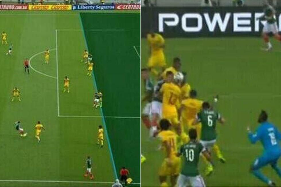 México ganó 1-0 a Camerún pero le anularon dos goles legales.
