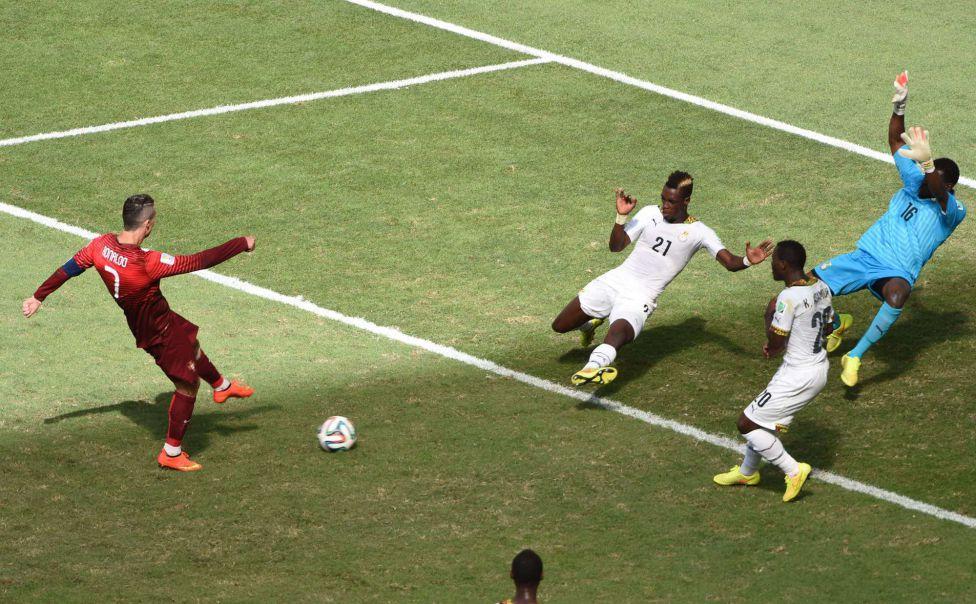 Un gol y múltiples oportunidades falladas. Ese es el balance de Ronaldo en este Mundial.