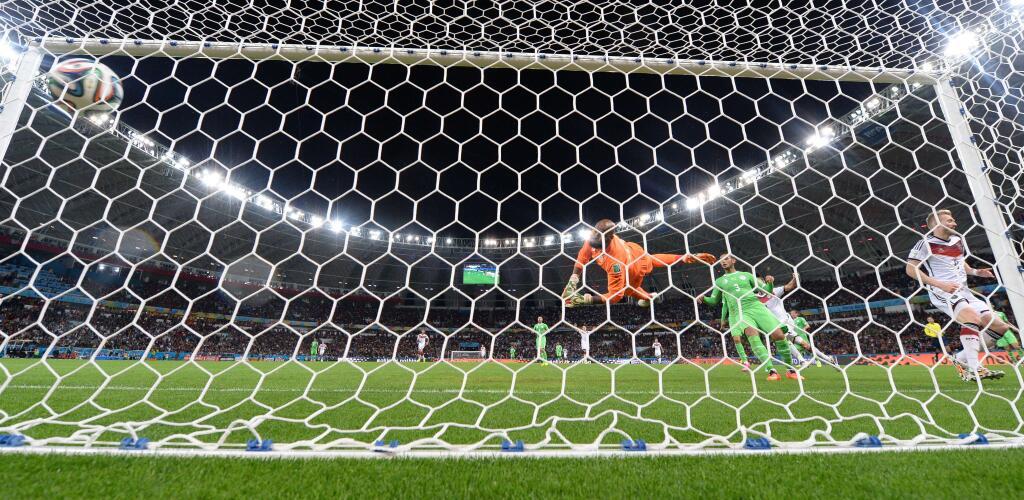 Alemania ganó con mucha dificultad a Argelia en la prórroga.
