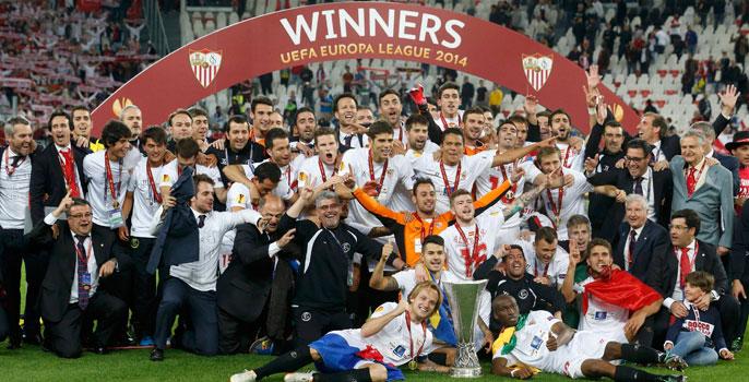El Sevilla obtuvo 14 millones de euros por ganar la Europa League.