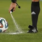 The new rules will be introduced at the World Cup in Brazil 2014