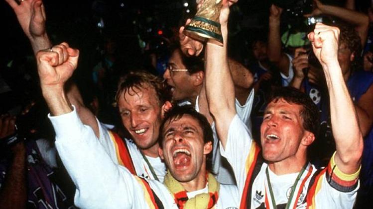 Alemania se llevó la final frente a Argentina en 1990.
