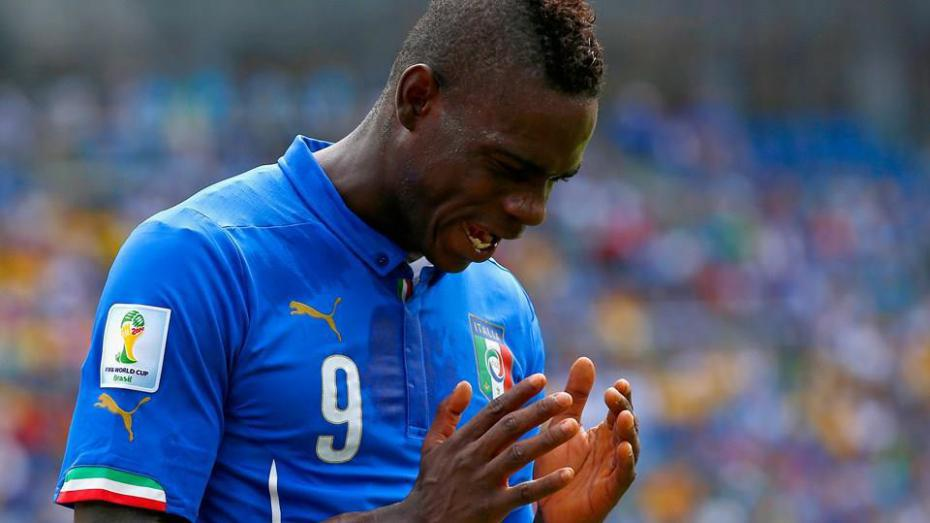 Balotelli and Italy went home to change first.