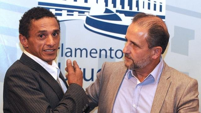 Dario Silva now involved in politics in Uruguay.