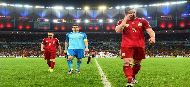 Brazil 2014, the worst rating of Spain in World Cup history