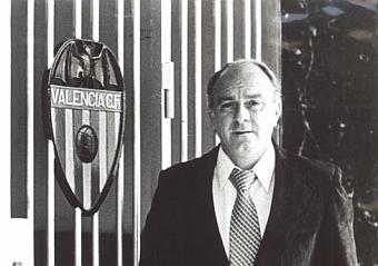 Di Stéfano también triunfó como entrenador. Hizo campeón al Valencia.