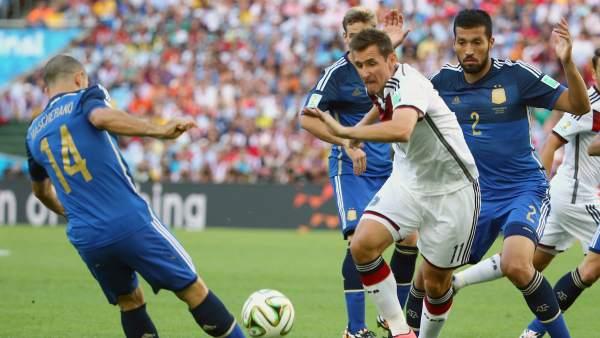 Klose, el máximo goleador de la historia de los Mundiales.