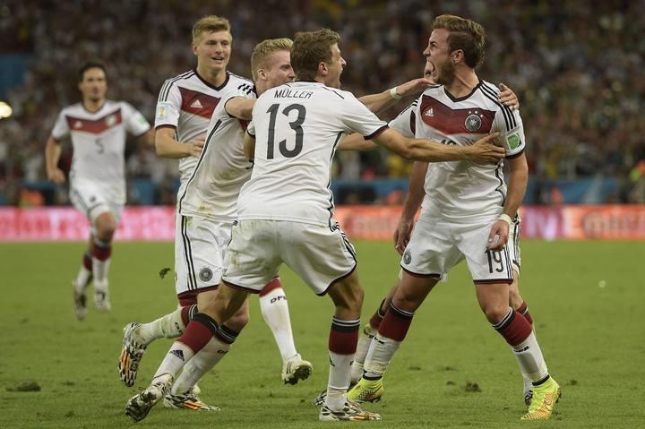 El gol de Götze le dio el Mundial a Alemania.
