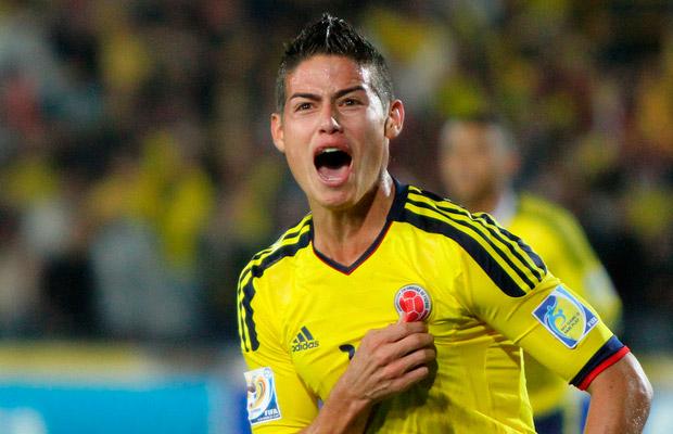 James Rodríguez quiere ser el jugador del Mundial.