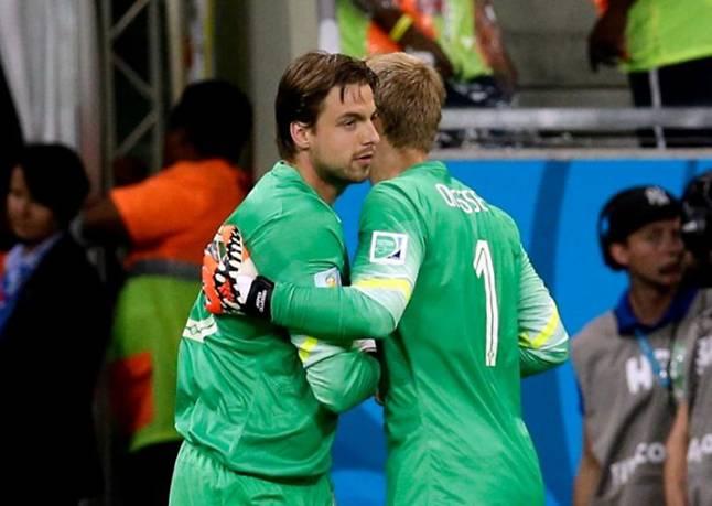 Van Gaal protagonizó una machada para la historia. Dio salida a Krul sólo para la tanda de penaltis y el guardameta paró dos.