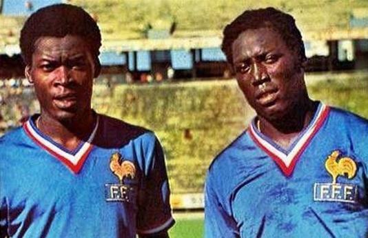 Blackwatch highlighted in the French football 70.