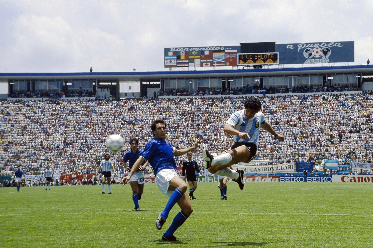 The best pictures of Maradona's career