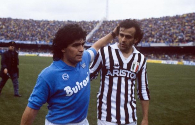 His time at Napoli was the best of his career at club level and agreed with other stars like Platini.
