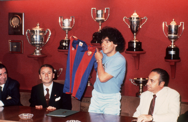 The day was presented as a Barcelona player.