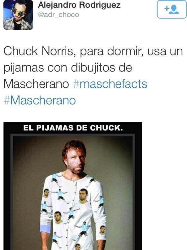 Mascherano Chuk Norris
