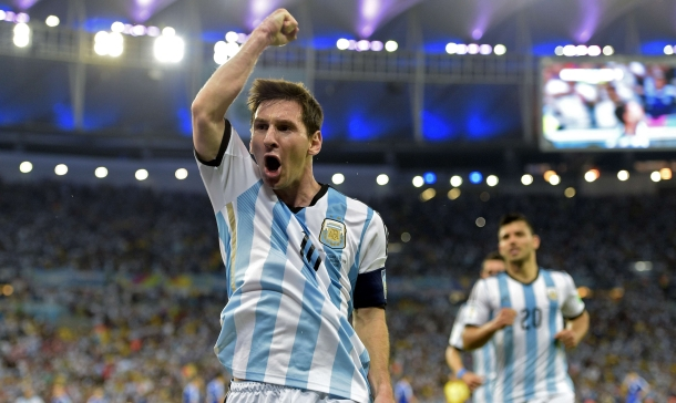 Messi ha marcado 4 goles en Brasil 2014 pero parece poca cosa para un jugador de otro planeta como él.