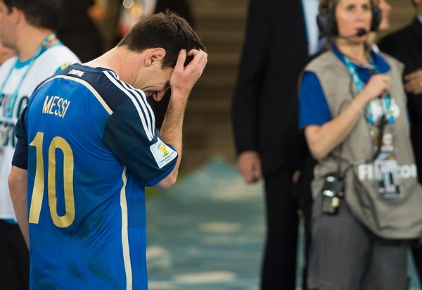 Brazil 2014 It was Messi's but only for FIFA.