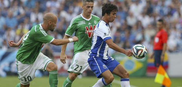 Oliver Torres es uno de los jugadores españoles que militarán en el Oporto 2014/15.