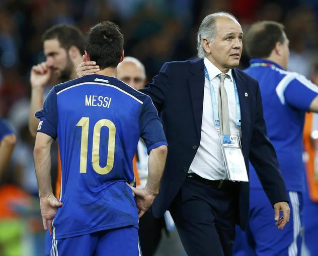Pese a que la FIFA se haya empeñado en darle el Balón de Oro, el argentino estuvo muy lejos de su nivel.
