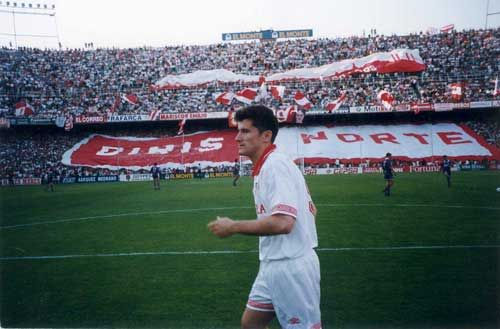 Davor Suker is one of the best players in the history of Sevilla.