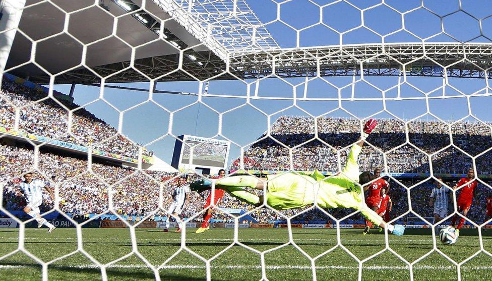 En la prórroga Di Maria anotó el gol que dio la victoria a Argentina.