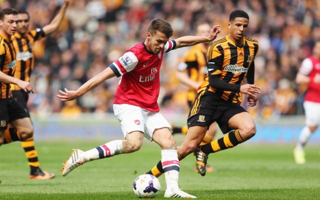 Cada vez que Ramsey marca, los famosos tiemblan.