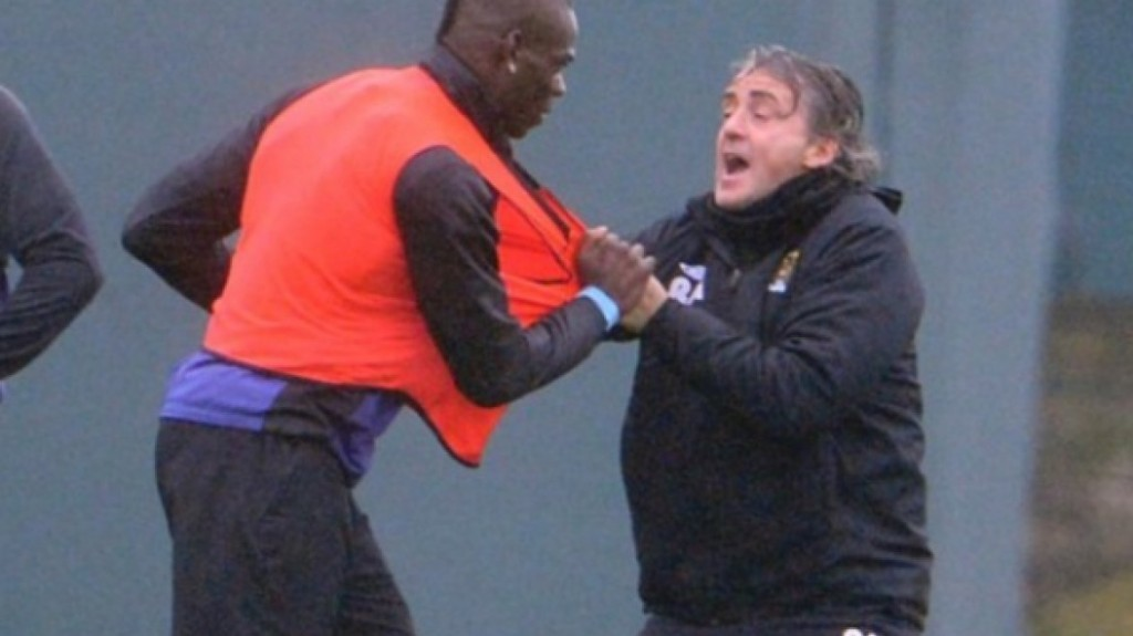 Ballotelli wanted to attack Mancini when he was his coach at City.