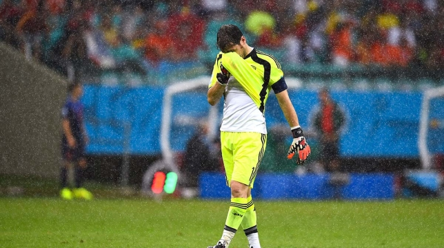 Iker Casillas, angel demon