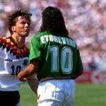 Etcheverry expulsado vs Alemania