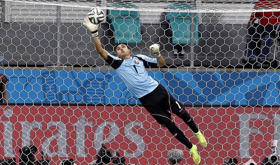 Keylor Navas se ha destacado como uno de los mejores del mundo y ha cambiado el Levante por el Real Madrid.