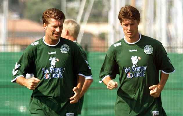 The Laudrup brothers, red dynamite
