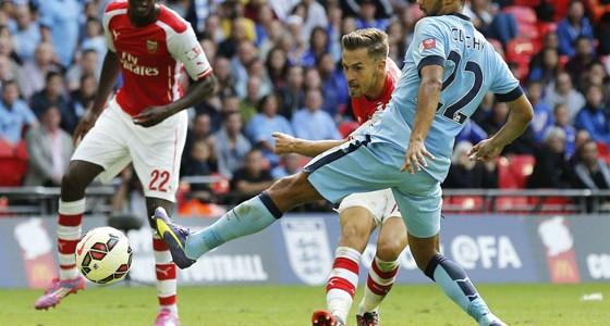 Este gol de Ramsey al City ha coincidido con la muerte de otro famoso, Robin Williams.