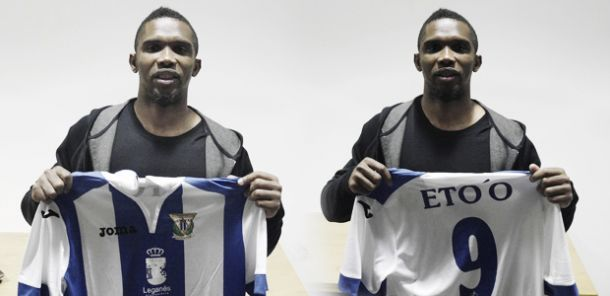 Eto'o cases like that 16 year-old joined Real Madrid would be unthinkable today. Image loaned to Leganes.