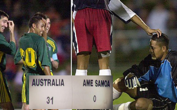 Australia 31 - Samoa Americana 0, la mayor goleada de la historia