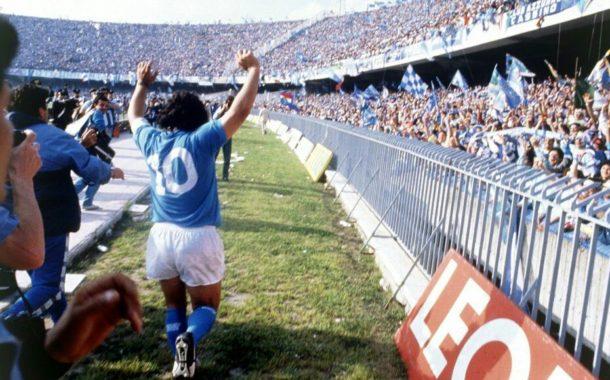 Maradona brilló como nadie lo ha hecho en San Paolo
