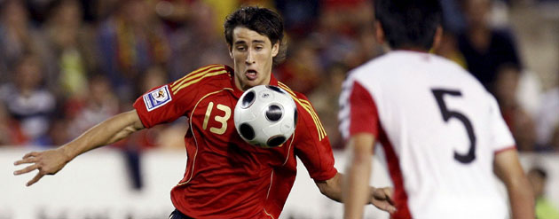 Bojan the day of his debut 2008.