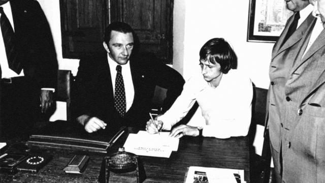 La historia de Cruyff y del Barcelona cambiaron con esta firma. Foto: fcbarcelona.es