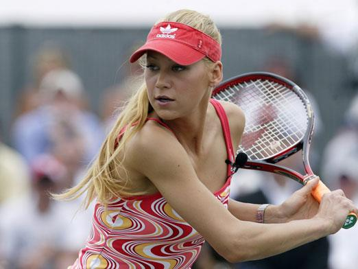 Anna Kournikova, the best known tennis player who never won anything